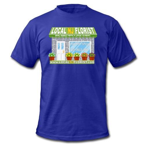 NEW LOGO - Men's Fine Jersey T-Shirt