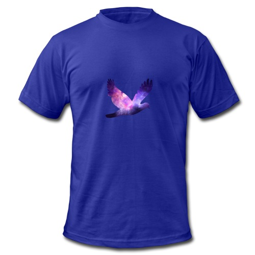 Galaxy bird - Men's Fine Jersey T-Shirt
