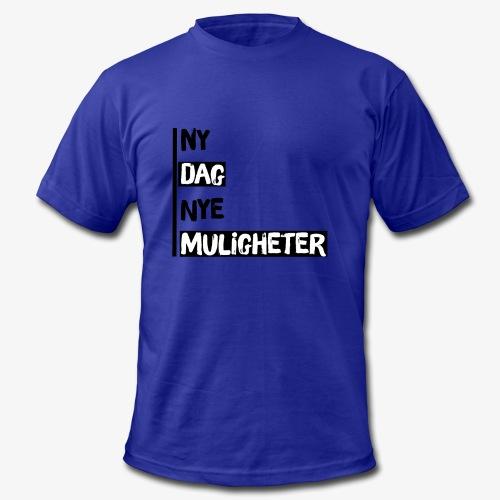 Ny dag, nye muligheter official merch - Men's Fine Jersey T-Shirt
