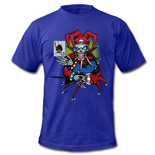 Evil Clown - Men's  Jersey T-Shirt