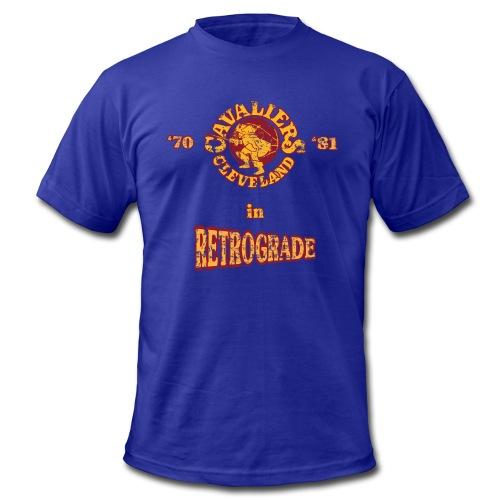 Warriors sending the Cavs back in time . '70/'81 - Men's Fine Jersey T-Shirt