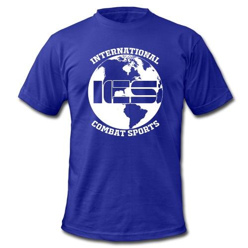 ICS Logo Blue - Men's Fine Jersey T-Shirt