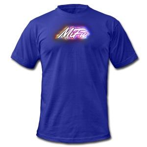 MiFu Logo - Men's Fine Jersey T-Shirt