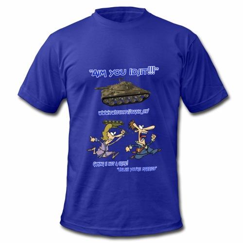 Aim You Idjit - Men's Fine Jersey T-Shirt