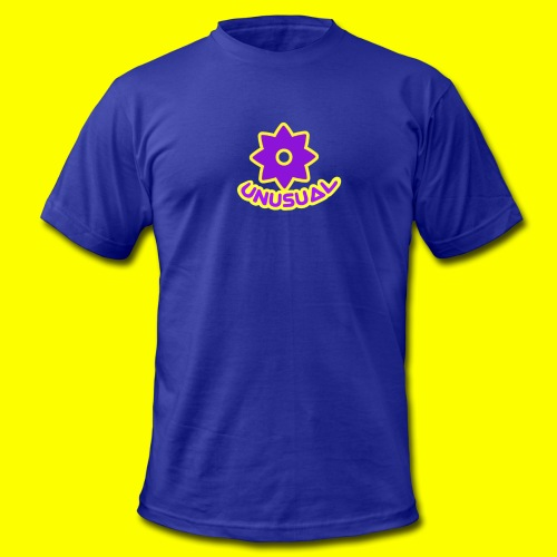 Ususual flower logo - Men's Fine Jersey T-Shirt