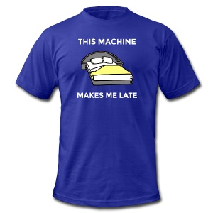 Machine - Men's T-Shirt by American Apparel