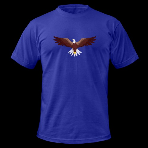 Eagle Logo - Men's Fine Jersey T-Shirt