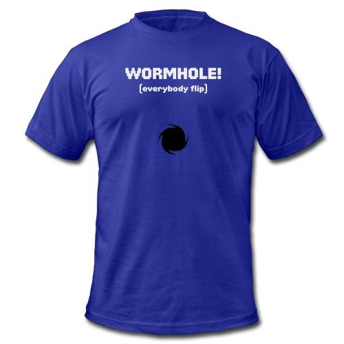Spaceteam Wormhole! - Men's Fine Jersey T-Shirt