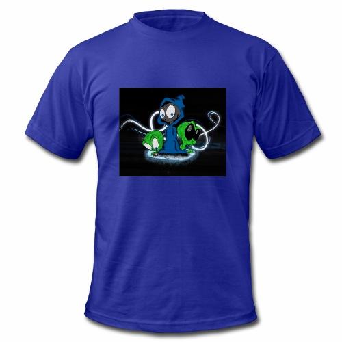 Alien Face - Men's  Jersey T-Shirt