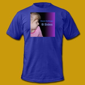 Kevin Dellinger B Sides Purple T-Shirt - Men's T-Shirt by American Apparel