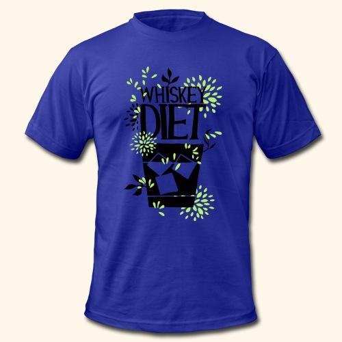 WHISKEY DIET T-SHIRT MEN / WOMEN - Men's Fine Jersey T-Shirt