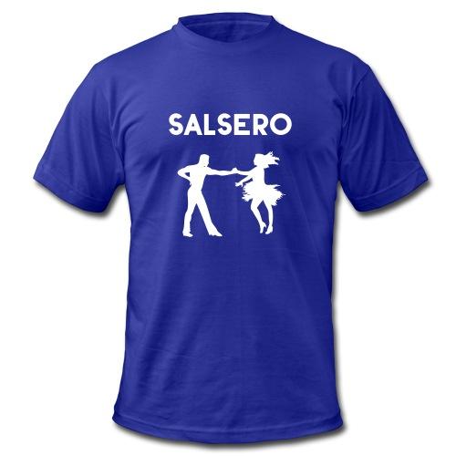 Salsero, Salsa, Latin dancing, bachata, mambo - Men's Fine Jersey T-Shirt