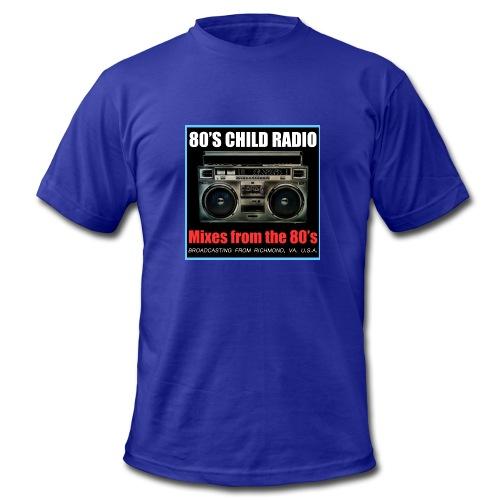 Boom Box Logo - Men's Fine Jersey T-Shirt