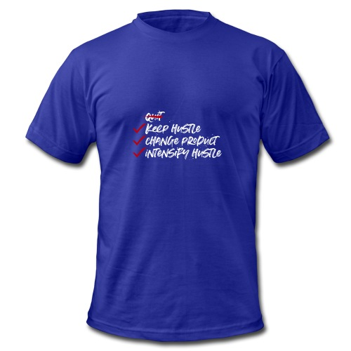 Keep Hustle - Men's Fine Jersey T-Shirt