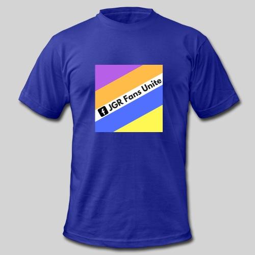 JGR Fans Unite Retro Logo - Men's Fine Jersey T-Shirt