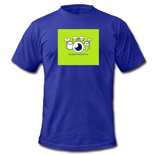 SSC Drum Kit - Men's Fine Jersey T-Shirt