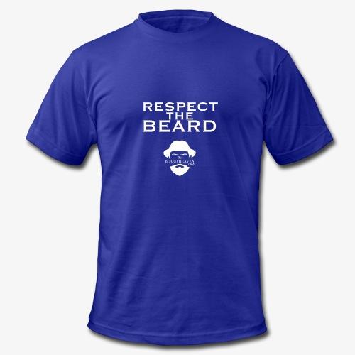 Respect the beard - Men's Fine Jersey T-Shirt
