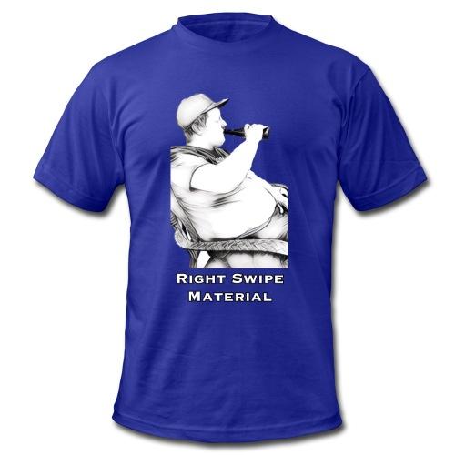 Right Swipe Material - Men's Fine Jersey T-Shirt