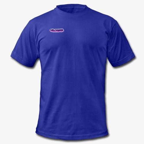 Velosifer Logo Made By Emerald! - Men's Fine Jersey T-Shirt