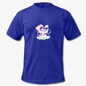 Cute lil bunny - Men's Fine Jersey T-Shirt