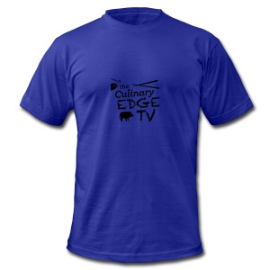 CETV Black Signature - Men's Fine Jersey T-Shirt