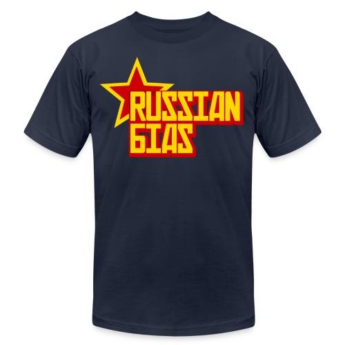 Russian Bias - Unisex Jersey T-Shirt by Bella + Canvas