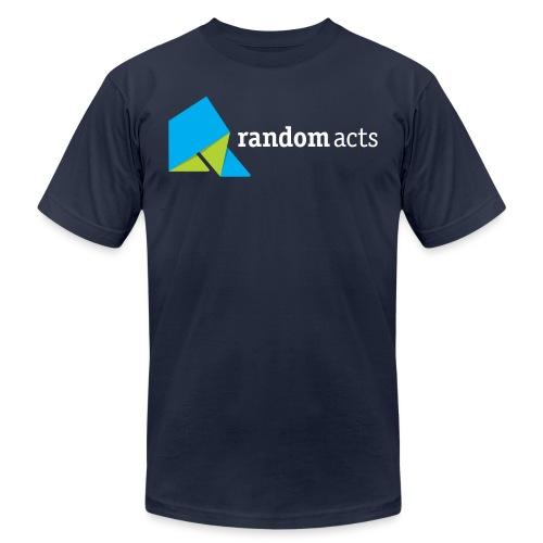 RA LOGO White text - Men's Jersey T-Shirt