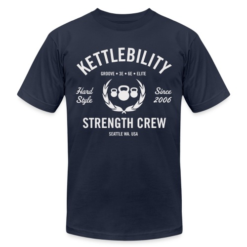 Strength Crew LT - Unisex Jersey T-Shirt by Bella + Canvas