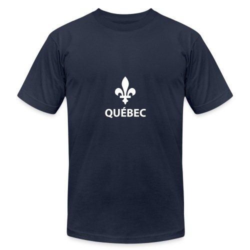 Québec - Unisex Jersey T-Shirt by Bella + Canvas