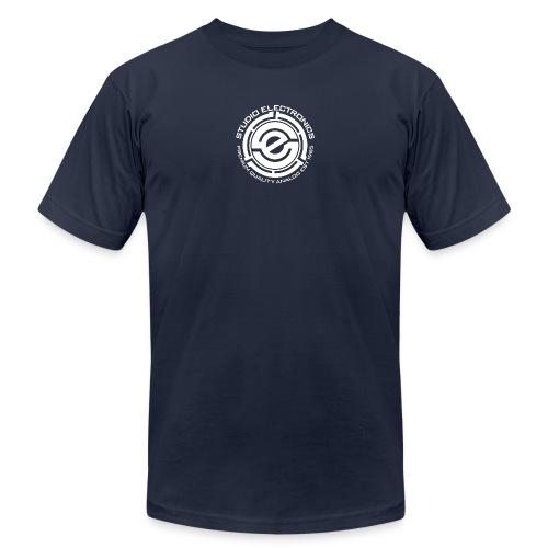 45 Insert SE Logo Greczilla White png - Unisex Jersey T-Shirt by Bella + Canvas