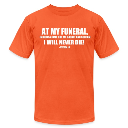 FUNERAL - Unisex Jersey T-Shirt by Bella + Canvas