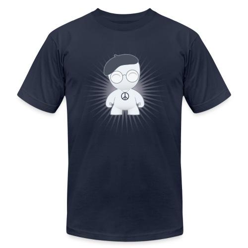 the Intellectual Hippie Men's - Unisex Jersey T-Shirt by Bella + Canvas