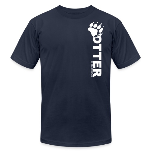 otter by bearwear - Unisex Jersey T-Shirt by Bella + Canvas