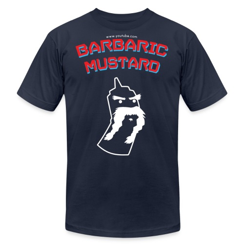 BarbaricMustard TShirt RWB png - Unisex Jersey T-Shirt by Bella + Canvas