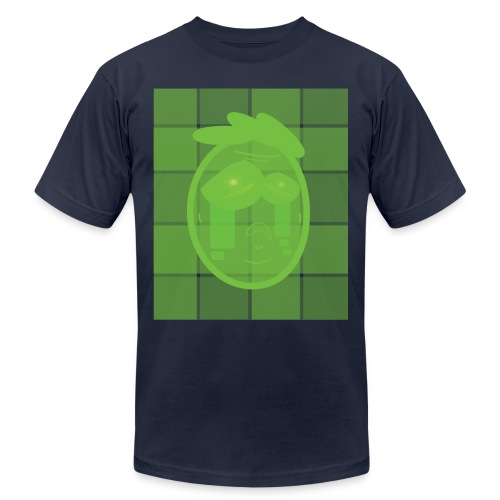 UPSET ALIEN 01 png - Unisex Jersey T-Shirt by Bella + Canvas