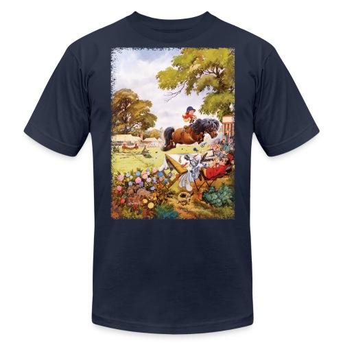 PonyTournament Thelwell Cartoon - Unisex Jersey T-Shirt by Bella + Canvas