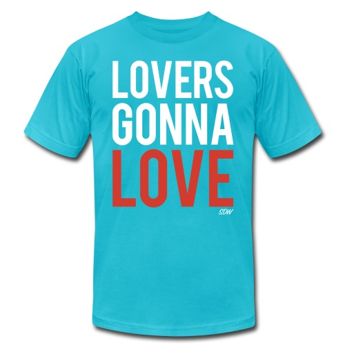 LoversGonnaLove2 - Unisex Jersey T-Shirt by Bella + Canvas
