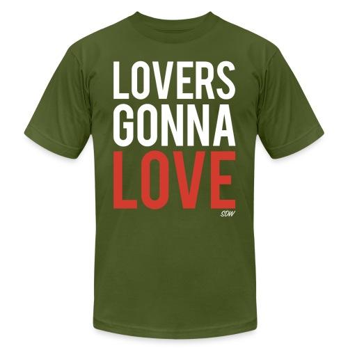 LoversGonnaLove2 - Unisex Jersey T-Shirt by Bella + Canvas