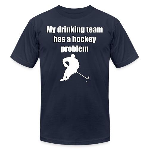 My drinking team has a hockey problem - Men's  Jersey T-Shirt