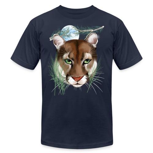 Midnight Puma - Unisex Jersey T-Shirt by Bella + Canvas