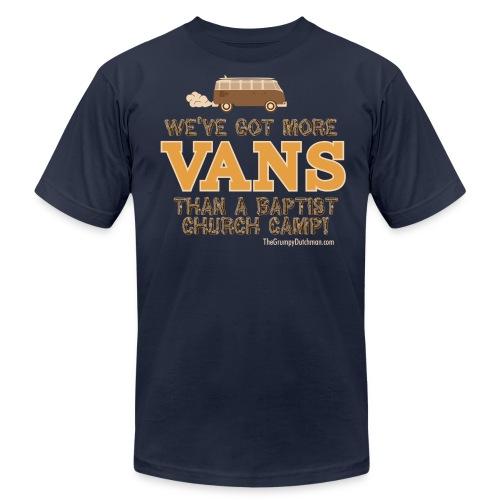 grumpy van outline01 crop - Unisex Jersey T-Shirt by Bella + Canvas