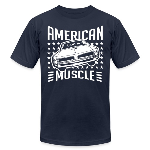 Pontiac GTO American Muscle - Unisex Jersey T-Shirt by Bella + Canvas