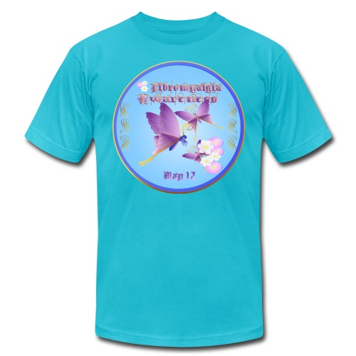 FIBROMYALGIA AWARENESS Ci - Unisex Jersey T-Shirt by Bella + Canvas