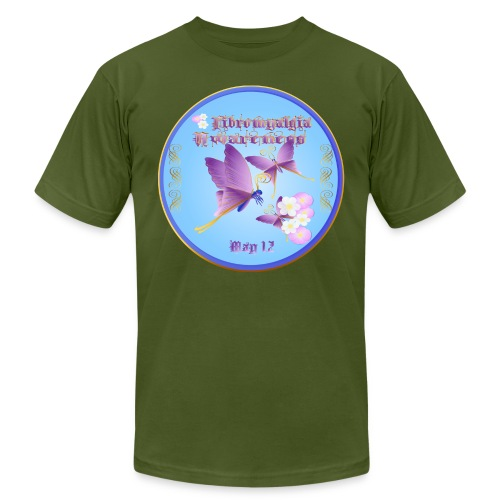 FIBROMYALGIA AWARENESS Ci - Unisex Jersey T-Shirt by Bella + Canvas