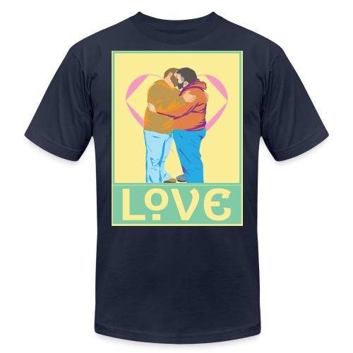 steve bday print 01tshirt png - Men's Jersey T-Shirt