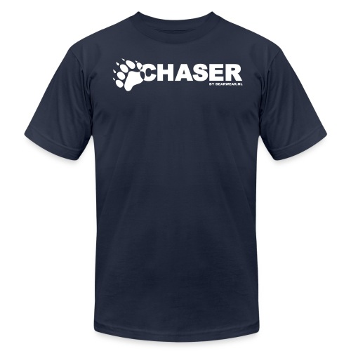 chaser by bearwear new - Unisex Jersey T-Shirt by Bella + Canvas