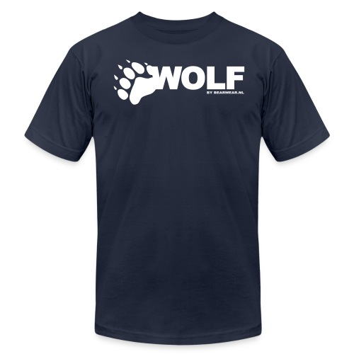 wolf by bearwear new - Unisex Jersey T-Shirt by Bella + Canvas
