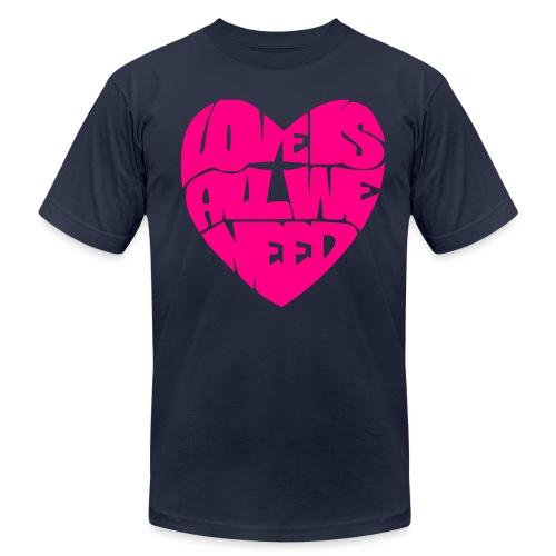 ***12% Rebate - See details!*** LoveIsAllWeNeed - - Unisex Jersey T-Shirt by Bella + Canvas