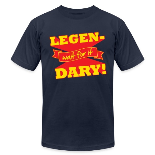 Legen-Dary - Unisex Jersey T-Shirt by Bella + Canvas
