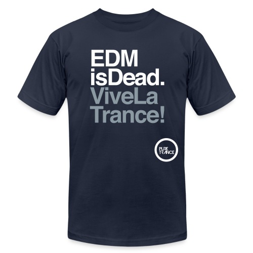 Pure Trance Logo - Men's Jersey T-Shirt
